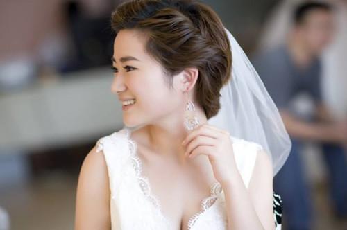 中短发新娘造型设计欣赏 百变新娘有哪些时尚装