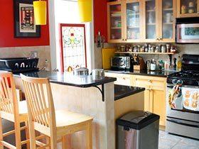 家的味道  10款彩色厨房装修图片