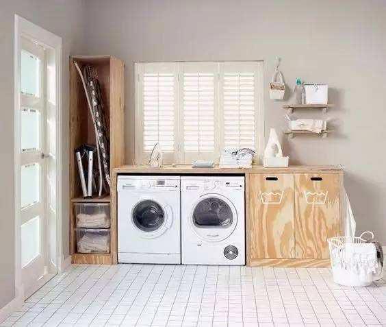 家庭洗衣房装修装饰效果图