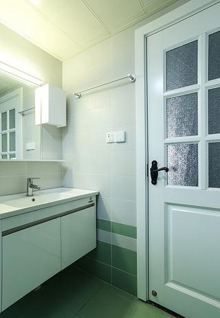60平小户型装修洗手台效果图