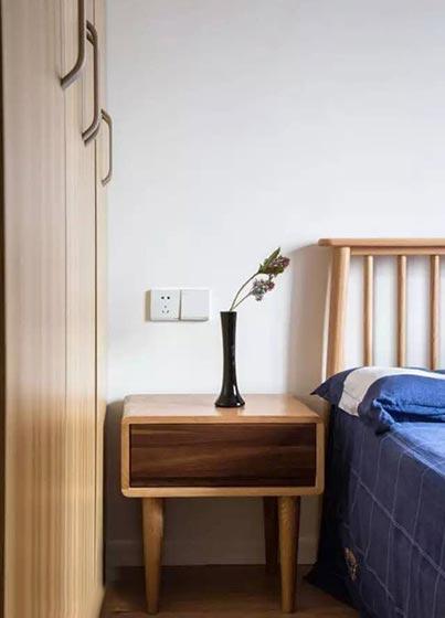 73㎡日式家装卧室效果图