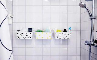 卫生间收纳箱装修构造图