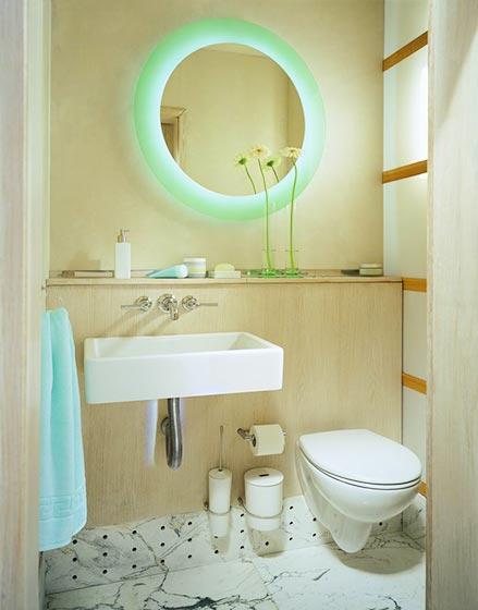 卫生间台盆柜装修平面图