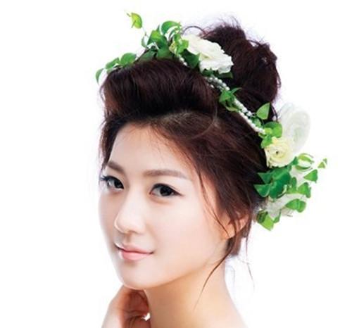 新娘发型教程217  方形脸如何做新娘发型