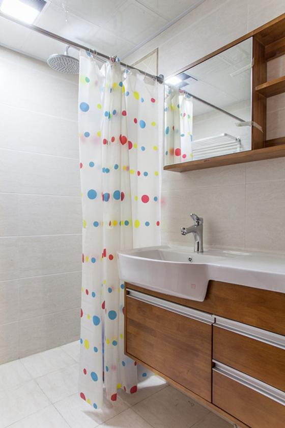 60平小两室装修卫生间效果图