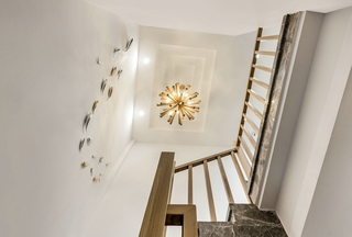 简约风格三居室装修楼梯图片