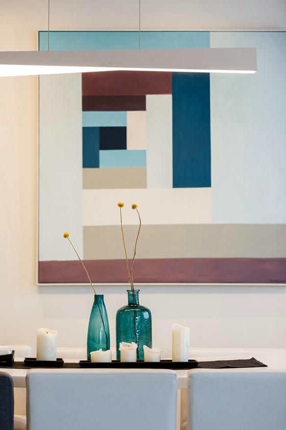 150平简约两居室装修效果图吊灯效果图