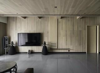148m²台式简约风电视背景墙装修效果图