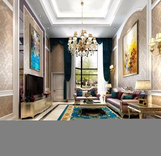 欧式古典别墅装修效果图
