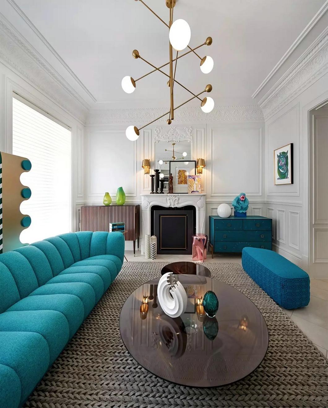 旧房改造完美蜕变客厅地毯图片