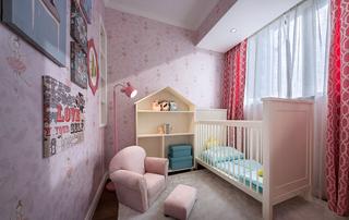 三居室简欧风儿童房装修效果图