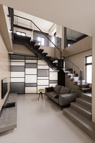 现代LOFT公寓装修效果图