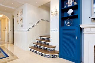 复式地中海风格楼梯装修效果图