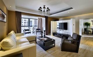 后现代风格三居客厅装修效果图