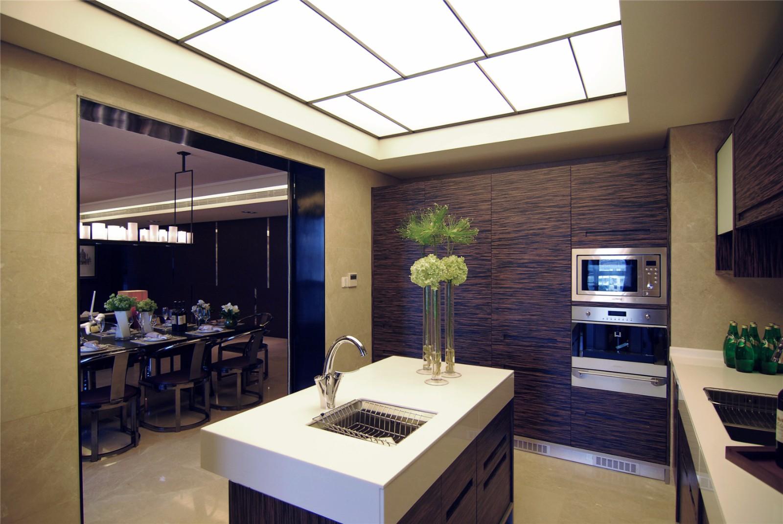 现代简约风格四居室厨房装修效果图