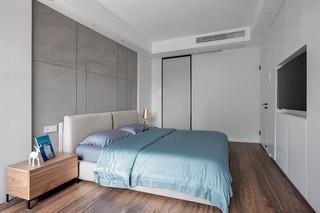 140平现代风格卧室装修效果图