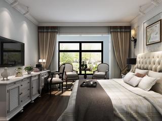 150平米美式风格卧室装修效果图