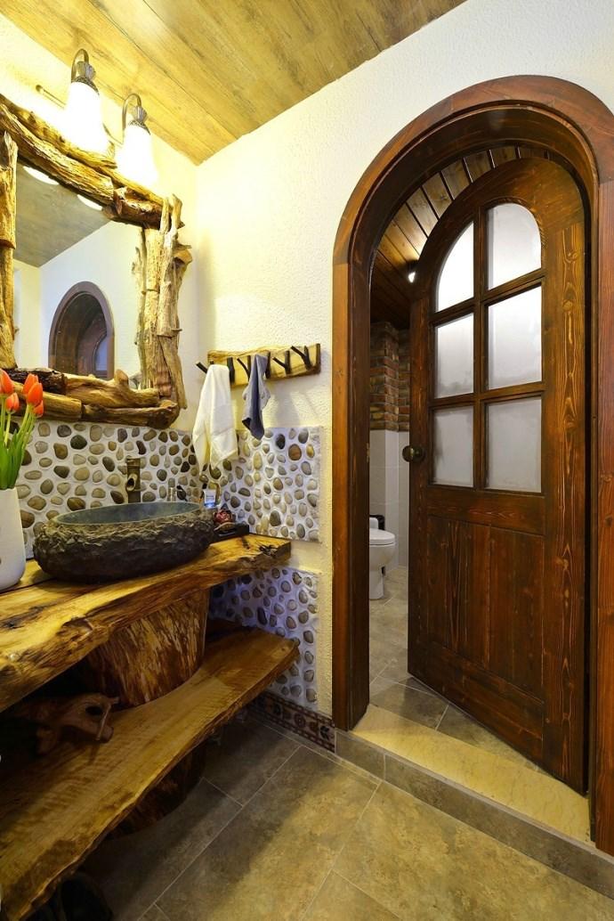 二居室美式乡村风格卫生间装修效果图