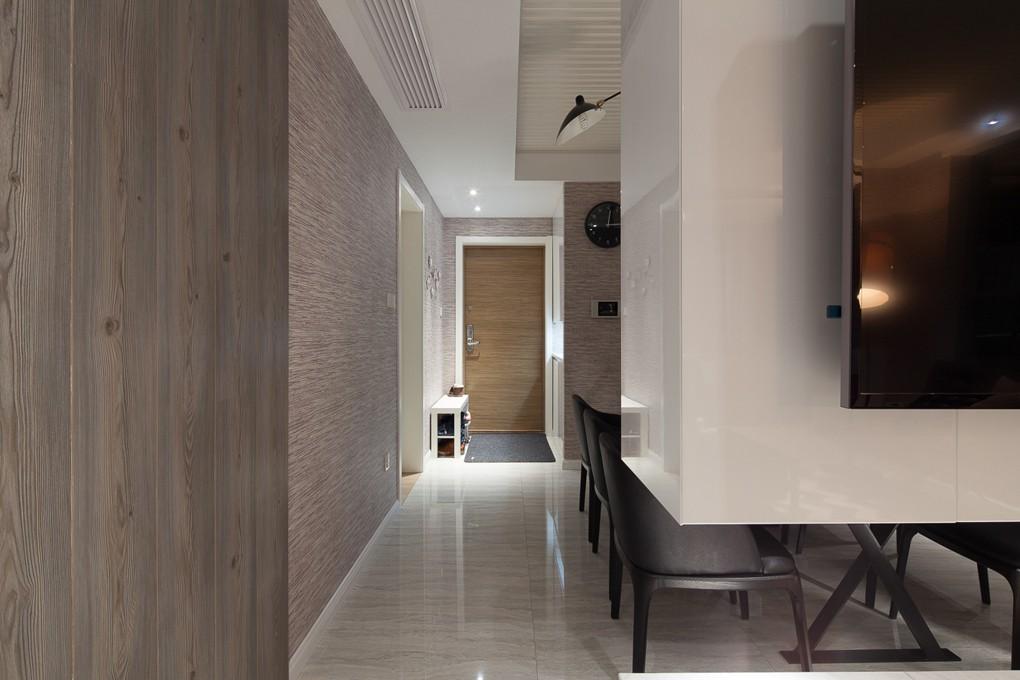 三居室混搭风格过道装修效果图