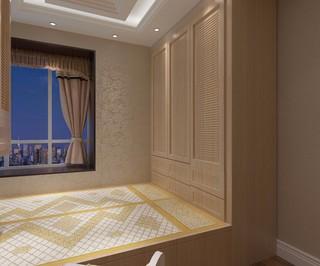两居室简欧风格榻榻米装修效果图