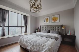 三居室混搭风格卧室装修搭配图