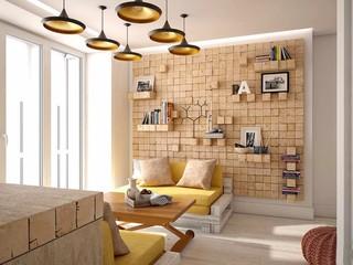 48㎡小户型公寓装修效果图