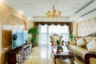 新古典欧式风格客厅装修注册送300元现金老虎机图