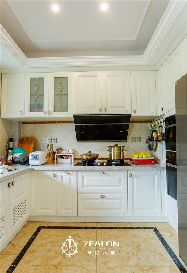 新古典欧式风格厨房装修效果图