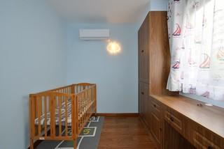 二居室现代简约风婴儿房装修效果图
