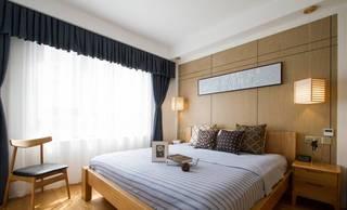 105平日式风格卧室装修效果图