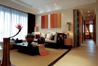 东南亚风格四居客厅每日首存送20