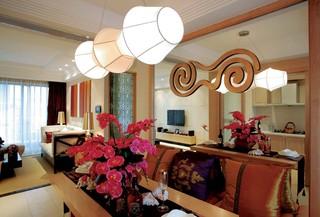 东南亚风格四居餐厅每日首存送20