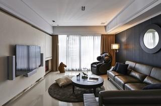 大户型港式风格客厅装修效果图