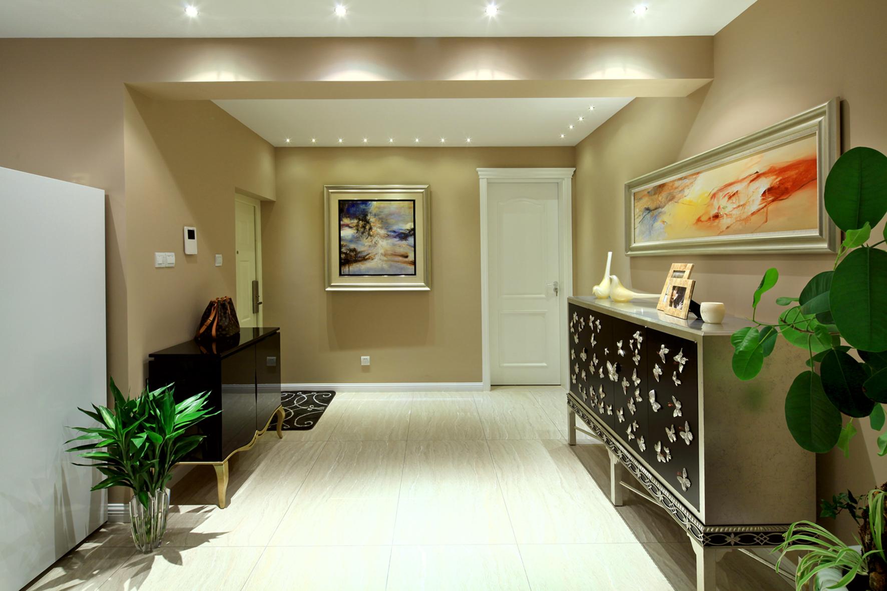 混搭风格三居室门厅装修效果图