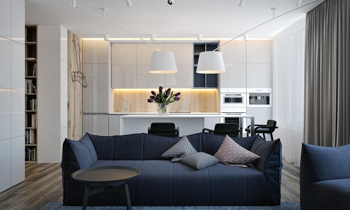 小户型公寓装修沙发设计效果图