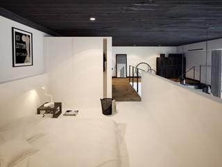 LOFT公寓卧室装修效果图
