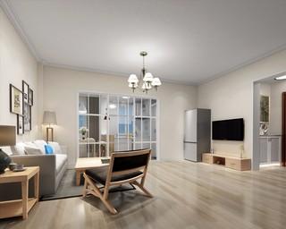 簡約風格兩居室客廳裝修效果圖