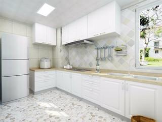 112㎡地中海风格厨房装修效果图