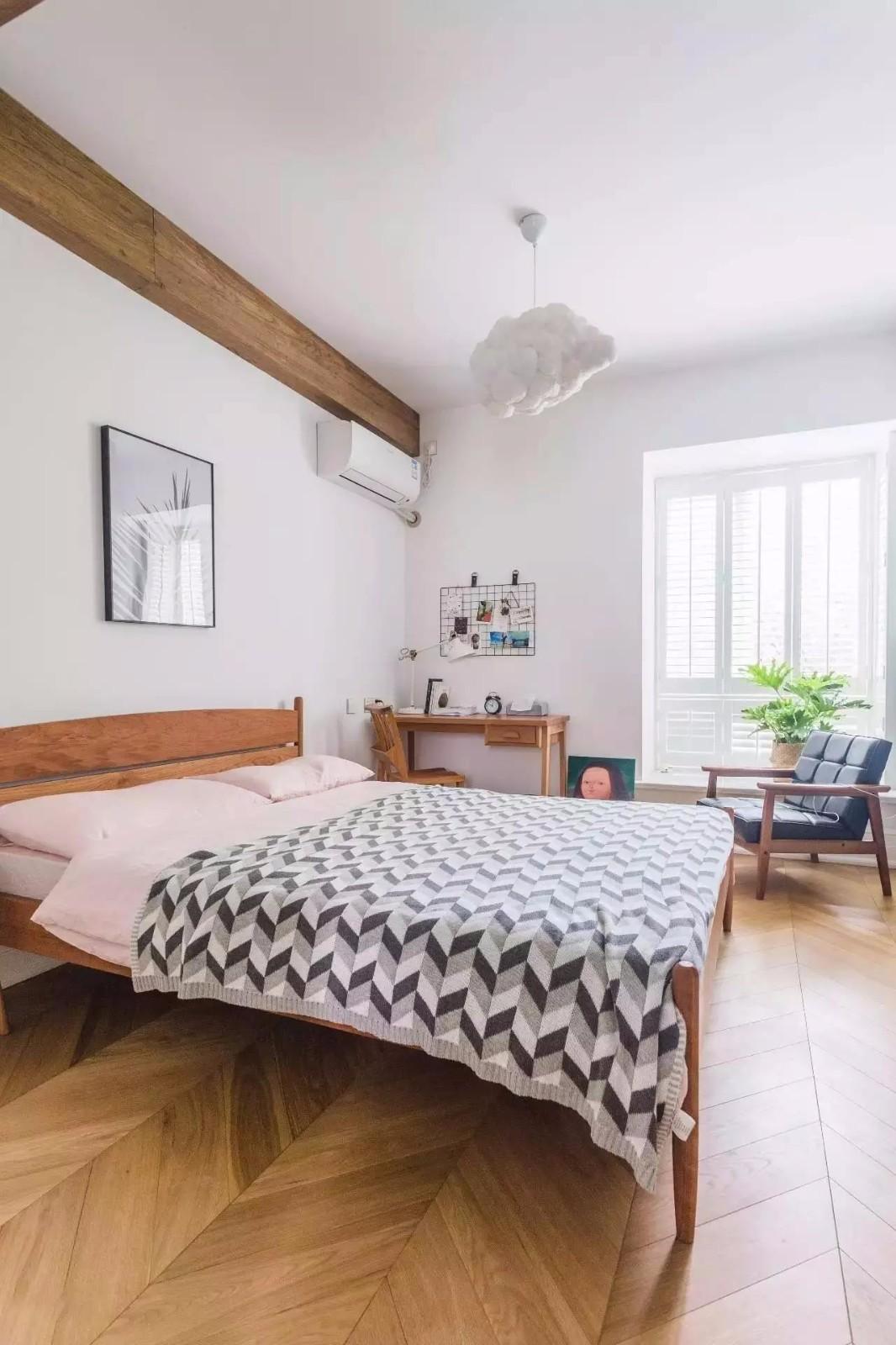 140平北欧风格卧室装修搭配图
