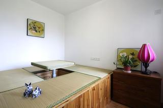 中式混搭三居榻榻米装修效果图