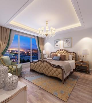 简欧风格卧室装修设计效果图