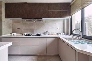 135平日式风格厨房装修效果图