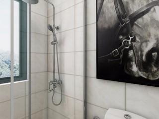 現代簡約兩居衛生間裝修效果圖
