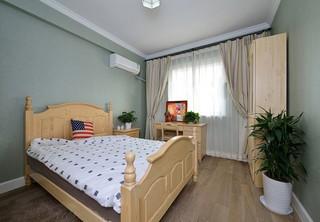 160平复式美式风格卧室装修效果图