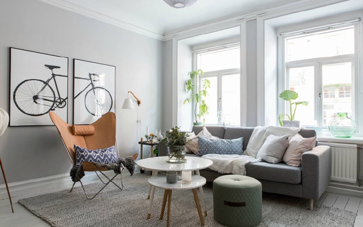 北欧风格公寓装修设计图