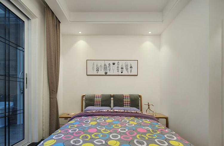 天马行空的现代简约风格卧室效果图