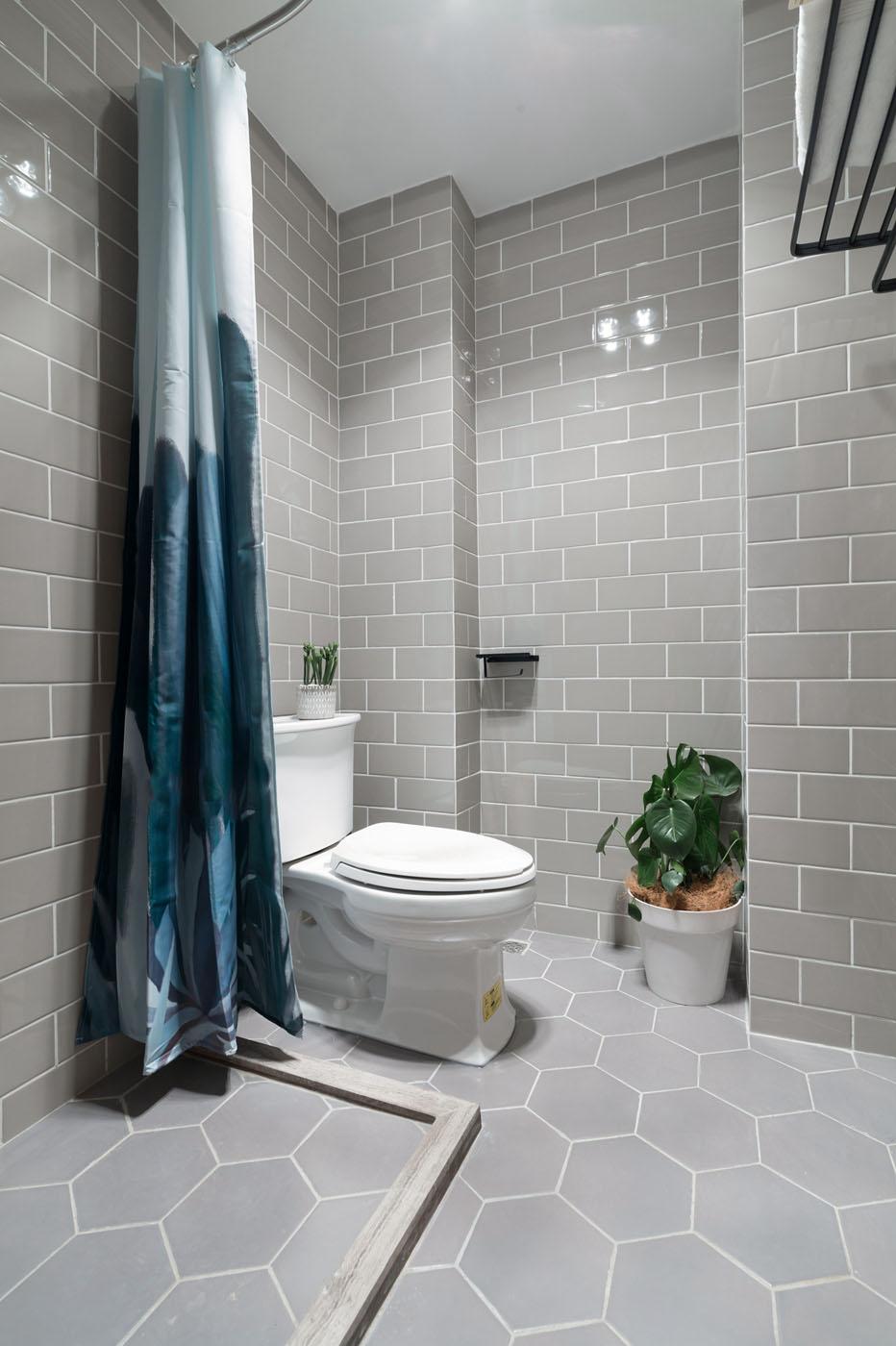 小户型北欧风格卫生间装修效果图