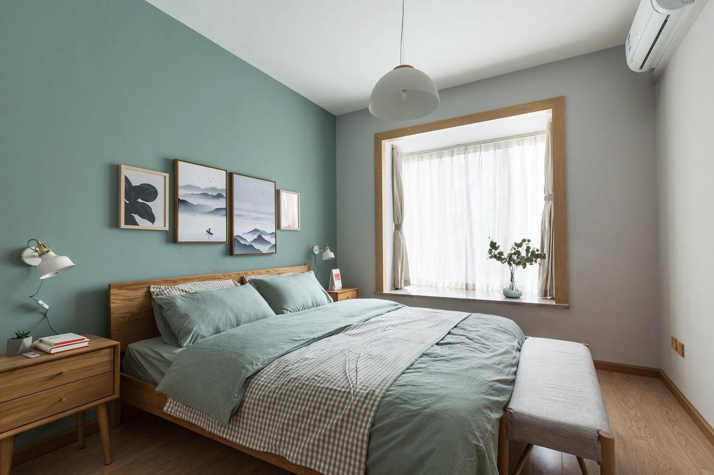 小户型北欧风格卧室装修效果图