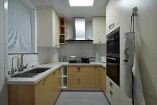 96平米北歐風格廚房裝修效果圖