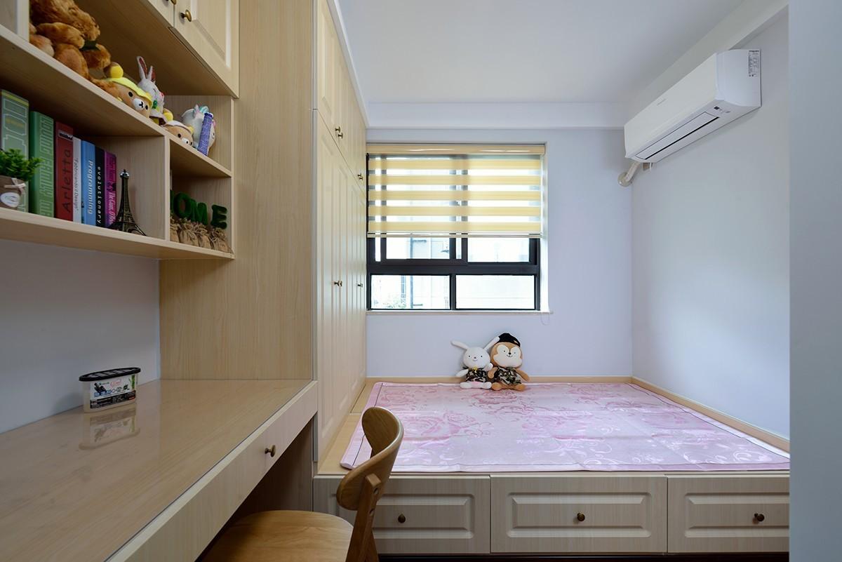 二居室混搭风格榻榻米装修效果图